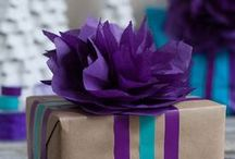 Gifts, cards, and wrapping ideas! / Gifts, cards, and ways to give gifts!  Wrapping techniques, move-in gifts, reusable wrapping paper, card ideas..