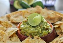 Gluten Free Chips & Dips / Because who doesn't love gluten free chips and dips at a party?