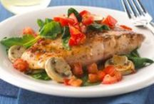 Learn to eat more fish -*sigh* / Different fish recipes