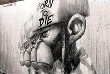 Street Art / bansky u hallucinogenic bustard.