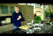Gordon Ramsay recipes / Different recipes cooked live by Gordon Ramsay - videos