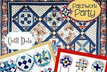 Patchwork Party 2014 Quilt Dots