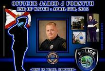 Officer Jared Forsyth / Born August 31, 1981 Hired at OPD April 16, 2012 End of Watch, April 6, 2015 Officer Forsyth lost his life due to an accidental discharge during semi-annual Firearms Qualifications.  He will be missed.