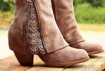 Boots, Boots, BOOTS! / One great thing about Fall and Winter: boot fashion!