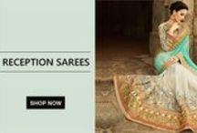 Reception Sarees