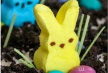 """In our Easter bonnets / Ideas for a """"hoppy"""" Easter."""