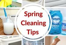 Spring Cleaning / Open the windows and smell the clean!