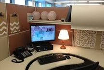 Cubicle Chic / Why should your work life be any less gorgeous than home?