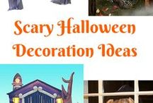 Halloween Costumes and Halloween Stuff / Halloween, Halloween, Halloween. The scarier the better... Love DIY decorations and really big inflatables, costumes and Halloween food.