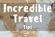 Incredible Travel Tips / Incredible Travel Tips that you should take with you on your next adventure! Learn tips and tricks about how and where to travel inexpensively! Pinning and repinning all the incredible travel tips you should check out! To join the group, please direct message me on instagram instagram.com/followingjesse/. Vertical pins only and all unrelated pins or spam will be removed from the board. :)