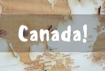 Canada: The Great White North / Pinning all the great destination in The Great White North!