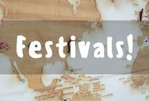Festivals around the World! / Pinning all the unforgettable festivals from anywhere around the world!
