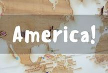 America / Pinning all the great destinations in America!