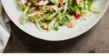 The Best Gluten Free Salad Recipes / Quick and easy salads that are naturally gluten free. How to make salads for a picnic, potluck, or party. Fruit salad. Vegetable salad. Side salad, lunch or dinner. #salad #easysaladrecipe