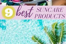 Beach Essentials / What to pack for the beach, beach vacation packing list, sunscreen products, and more for fun in the sun!