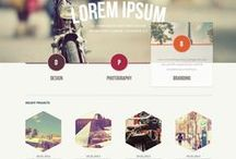 ///  WEB DESIGN / Webdesign inspiration !