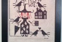 i N s A n E  t H i N g S Cross-stitch