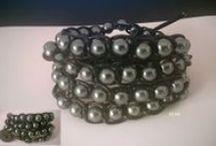 Boho bracelets and necklaces