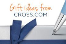 Cross Gifts / Cross pens and stationary makes for the idea perfect gift for any occasion, including birthday, holidays, anniversaries, and any event for which you want to capture a memory.   We offer engraving as standard on many Cross products so make your event special with a gift from Cross.  / by A.T. Cross UK