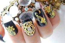 ❤ NailCandi ❤ / Beautiful Manicure Jewelry, Nail Art Charms and Nail Veils available from  www.nailcandi.co.za