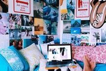 dorm / for the dayz im in college