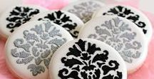 Super Fab Stenciled Cookies! / I love a stenciled cookie! Shocking - I know. LOL Here are some favs by awesome cookie decorators across the globe!