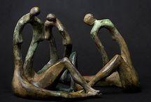 Rzeźba współczesna / Sculptor bronze