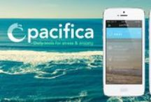 Pacifica - Daily Tools for Stress & Anxiety - iOS/Android - thinkpacifica.com / Based on Cognitive Behavioral Therapy, relaxation, and wellness. Available on iOS/Android.