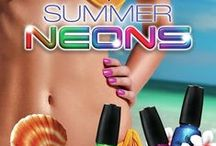 China Glaze Summer Neons / NailCandi brings you China Glaze's Summer Neons. Perfect for any time of the year and great for stamping. Here are the colours we have available.