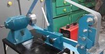 homemade angle grinders stand