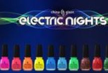 China Glaze Electric Nights Collection / China Glaze's Electric Nights Collection featuring bold brights and neon glitters you definitely want to have in YOUR collection!