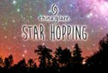 China Glaze Star Hopping Collection / China Glaze's Star Hopping Collection which is a 8 bottles glitter bombshell collection you DON'T want to miss out on!