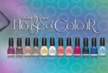 China Glaze House of Colour Collection / China Glaze's House of Colour Collection which is about showing off your true colors.