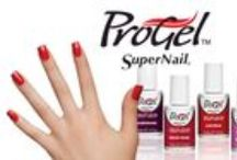 SuperNail ProGel Gel Polish / SuperNail ProGel 100% Gel Polish is a quick and easy system that is hard to beat. Salon quality products that can be used at home allow you to create super strong, shiny nails that last for weeks. ProGel 100% Gel Polish outperforms regular nail lacquer with longer lasting wear and durable color. Natural nails enjoy ultra protection while showing off mirror-like finish. Quickly cures in LED or UV light and the product can be soaked off easily in 10 minutes without drilling or filing.