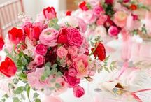 Holiday - Valentine's Day / Romantic Valentine's Day inspiration on floral arrangements, decorating, and making the day a beautiful as possible.