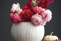 Fall / Beautiful Fall inspiration on floral arrangements, decorating, fall  weddings, and event hosting.