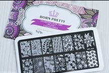 NailCandi Born Pretty Stamp Plates / Looking for longer, square plates with images more suited for longer nails, well look no further and visit our online store at www.nailcandi.co.za