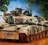 Army machinery