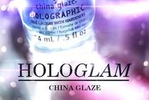 China Glaze HoloGlam Collection / Holos for the winning!