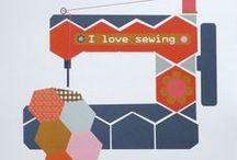 Sewing room / Tante idee da copiare per arredare uno spazio cucito pratico e bello!