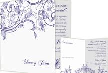 Invitaciones modernas para bodas / ¿Te casas? Aquí te presentamos una selección de algunas nuestras invitaciones de boda más originales. ¡Seguro que encuentras la que mejor va con tu estilo!