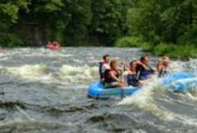 Raftin' - Salmon River  / The best trip we offer, guaranteed class III whitewater in July and August, just 30 minutes North of Syracuse, NY!