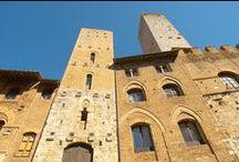 Torre Chigi - San Gimignano -  medieval castle / Exclusive Club Useppi http://www.torciano.com/USA/winery/useppi-tower-romantic-dinner/ San Gimignano Towers