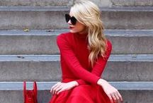 Woman in Red ♥