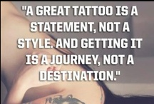 Tattoos / A tattoo tells a story no matter the age of the person having it. Someone with a tattoo is as interesting with their clothes on as off as they are, in fact, never naked.