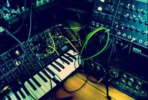 Modular synths - electronic music gear / by Charlieprod