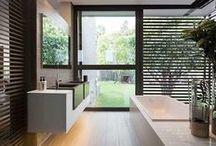 Baños / Inspiración para #home #staging en #baños