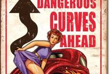 Dangerous Curves / Pin up inspiration