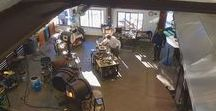 Glass Studio | Josh Simpson Hot Shop / What's happening at Josh Simpson's studio!?