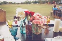Table Details / Inspiration for your wedding tables.